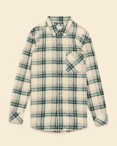 Aritzia light brown plaid shirt. Brand New with tags.