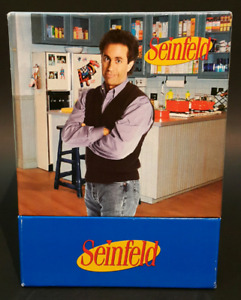 Seinfeld: Season 1 2 3 DVD Boxed Gift Set w/ Monks Diner Salt &