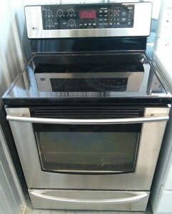 EZ APPLIANCE LG STAINLESS STOVE 489$ FREE DELIVERY 403-969-6797