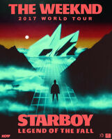 The Weeknd @ Bell Centre in Montreal, QC 05/30/2017 (2 RED TIX)