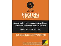 Gas heating and plumbing services