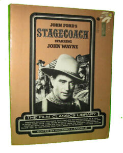 Book of John Ford's Stagecoach Film - 1975