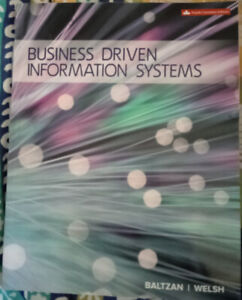 Used: Business Driven Information Systems | 4th Edition | Baltza