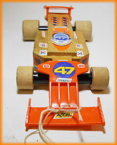 1983 FISHER PRICE 726 Wood Race-Car