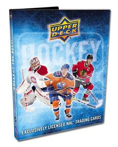 2016-17 Upper Deck Series 1 Hockey Starter Kit Binder + Packs