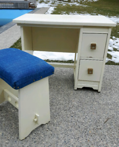 Wood Desk / Vanity *Delivery Available*