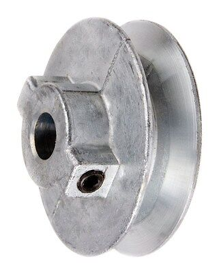 Chicago Die Cast Single V Grooved Pulley A Belt W 2 Dia X 34 Bore Bulk