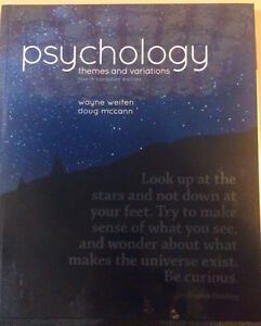 Psychology: Themes and Variations 4th Canadian Ed