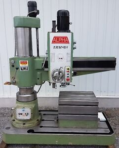 Perceuse radiale Alpha Z3032X10/1 radial drill