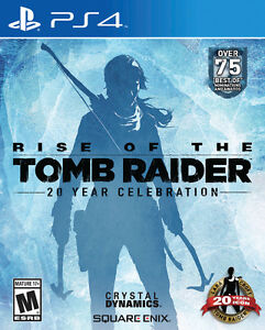 Rise of the Tomb Raider: 20 Year Celebration Edition (PS4)