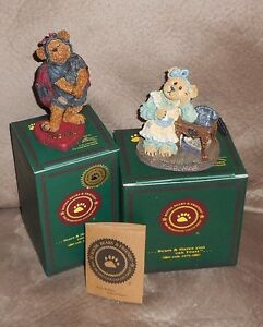 Boyds Bears Figures - mint in box - huge collection!