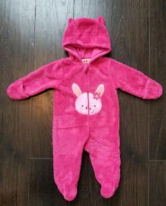 3-6 Month Fleece Suit