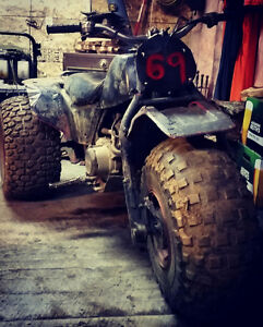 Looking to trade mud truck and 3 wheeler for a running dirtbike