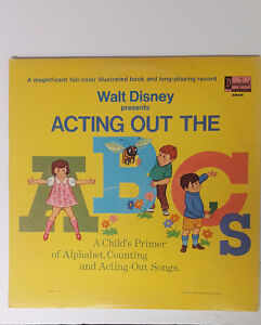 Walt Disney Acting out the ABC's