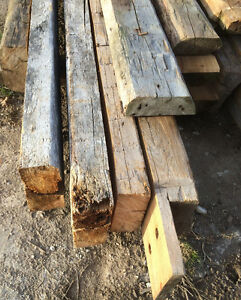 barn beam mantels
