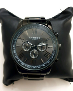Mens Akribos Swiss Quartz