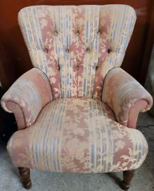 Greensmiths upholstery Elizabeth armchair