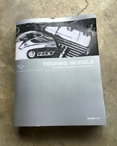 2014 Harley Davidson Service Manual - Touring Models