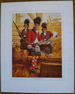 Canada's Military Heritage Collection – Complete Set of 6 Prints Kingston Kingston Area image 3