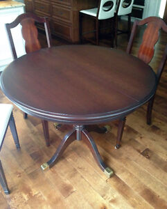 Dining Table -   walnut stain Strathcona County Edmonton Area image 1