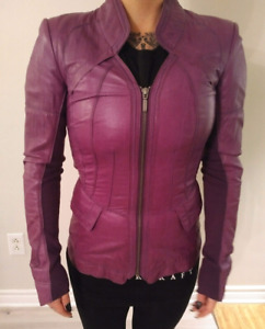 Manteau de Printemps Cuir Danier 3XS Spring Leather Jacket