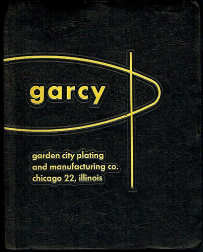 Garcy Store Fixure Hardware Displays Brackets Products Vintage 1958 Catalog