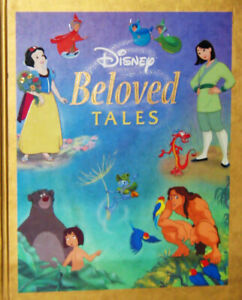 DISNEY Beloved Tales, NEW hard cover book