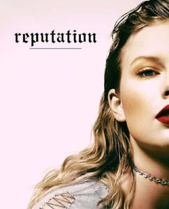 TAYLOR SWIFT REPUTATION - Toronto August 3, 2018 (at cost)