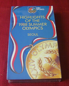 NEW---Highlights of the 1988 summer Olympics on VHS