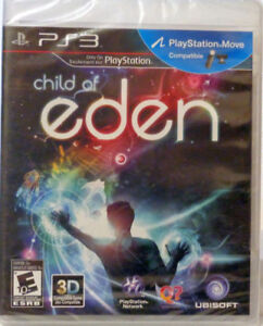 PS3 Child of Eden Sony Playstation 3 Multi-Sensory New
