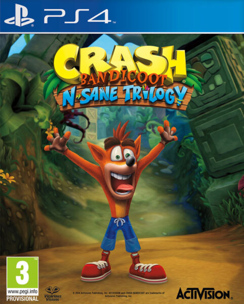 Crash Bandicoot N. Sane Trilogy (brand new)