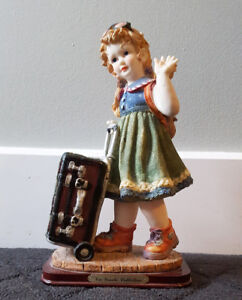 Figurine de collection en porcelaine « Via Veneto Collection »