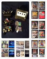 MUST HAVE GameCube with Gameboy Player 9 CIB GC & 2 GBA & 3 Game