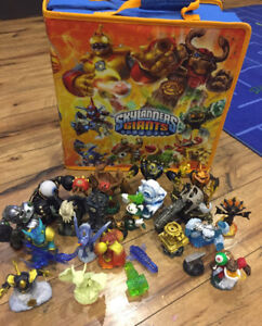Skylanders with carry case