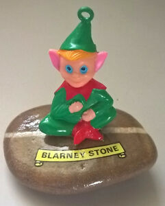 Vintage Irish Leprechaun Blarney Stone St. Patrick's Day Decor