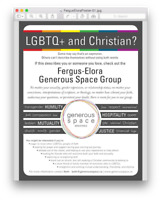 LGBTQ and CHRISTIAN?  Not an oxymoron.