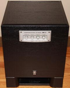 Yamaha YST-SW215 Subwoofer & Yamaha NS-AP2400 Speakers
