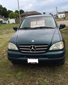 1999 Mercedes-Benz 400-Series SUV, Crossover