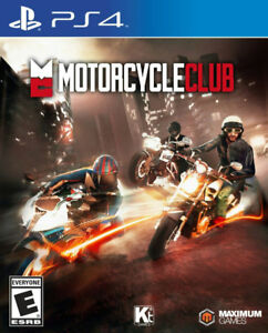 FACTORY SEALED COPY OF MOTORCYCLE CLUB FOR PS4