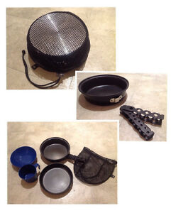 Camper Cookset (camping pans, cup & bowl)