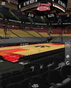 Raptors vs. Cavs October 28 NEAR COURTSIDE