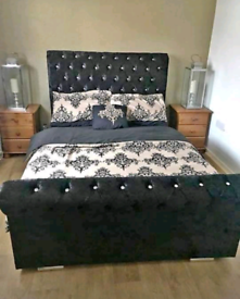 Upholstered beds for sale