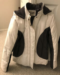 White bomber winter coat - make me an offer