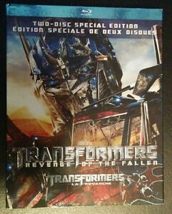 Transformers Revenge of the Fallen - Blu-ray $10 London Ontario image 1