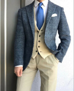 MADE-TO-MEASURE BESPOKE SUITS & BLAZERS (MADE IN CANADA)