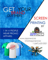 Screen Printing by AppNerd