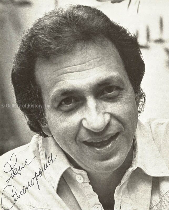 GENE CHRONOPOULOS - PHOTOGRAPH SIGNED