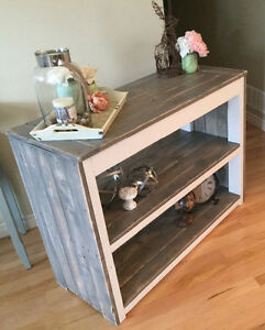 Rustic Country Chic Sofa Table Belleville Belleville Area image 6