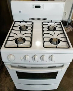 """GE Compact 24"""" Gas Stove, 12 month  warranty"""