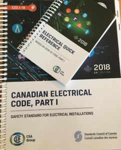 Canadian Electrical Code Book 2018